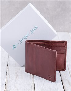 gifts: Personalised Chestnut Jinger Jack Wallet!