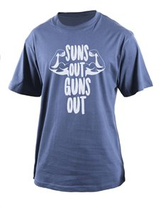 gifts: Personalised Petrol Guns Out T Shirt!