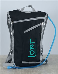gifts: Personalised Hydration Backpack!