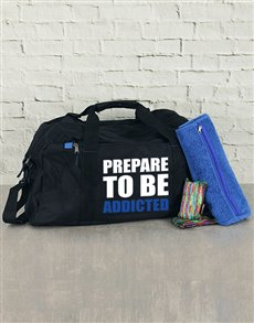 gifts: Personalised Prepare To Be Addicted Kit!