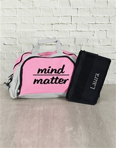 gifts: Personalised Mind Over Matter Sports Bag and Towel!