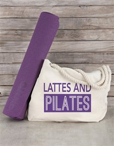 gifts: Personalised Beach Bag and Yoga Mat!