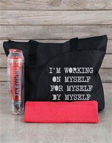 gifts: Personalised Working On Myself Kit!