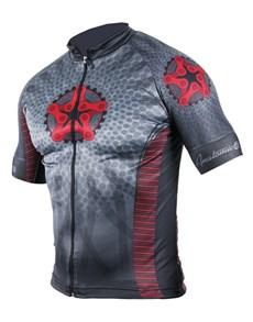 gifts: Personalised Mens Retro Star Cycling Shirt!