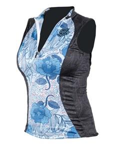 gifts: Personalised Ladies Flora Sleeveless Cycling Shirt!