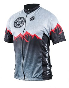 gifts: Personalised Mens Adventure Cycling Shirt!
