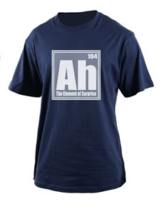 gifts: Personalised Navy Ah T Shirt!
