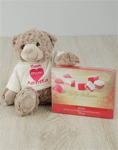 gifts: Small Personalised Teddy with Sally Williams!
