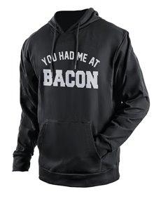 gifts: Personalised Black At Bacon Hoodie!
