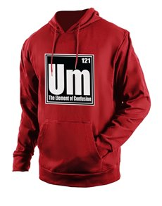 gifts: Personalised Red Confusion Hoodie!