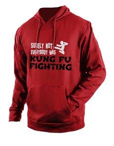 gifts: Personalised Red Kung Fu Hoodie!