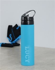 gifts: Personalised Silicone Water Bottle!
