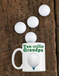 gifts: Personalised Tee rrific Grandpa Mug!