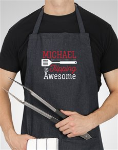 gifts: Personalised Flipping Awesome Apron!