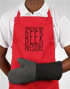 gifts: Personalised Beer Pressure Apron!