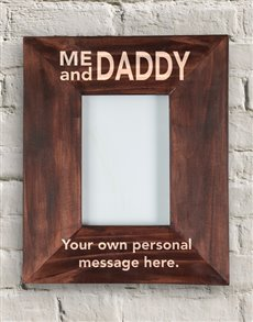 gifts: Personalised Daddy and I Frame!