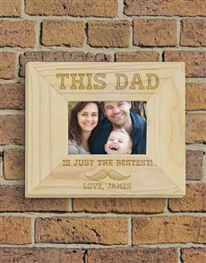 gifts: Personalised This Dad Frame!