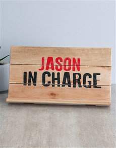 gifts: Personalised In Charge Gadget Stand!