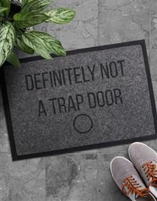 gifts: Personalised Trap Door Doormat!