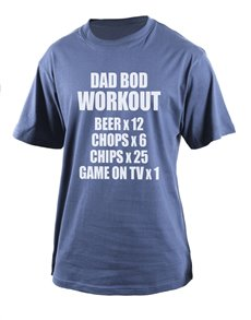 gifts: Personalised Dad Bod T Shirt!