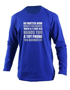 gifts: Personalised Answer It Longsleeve T Shirt!