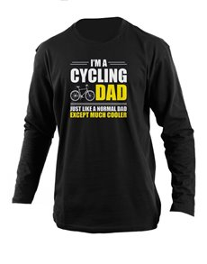 gifts: Personalised Cycling Dad Longsleeve T Shirt!