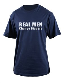 gifts: Personalised Real Men T Shirt!
