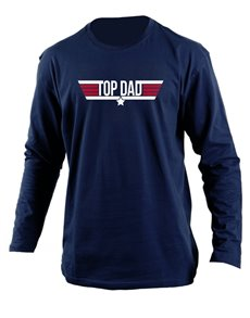 gifts: Personalised Top Dad Longsleeve T Shirt!