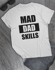 gifts: Personalised Dad Skills Longsleeve T Shirt!