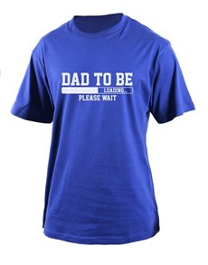 gifts: Personalised Dad To Be T Shirt!
