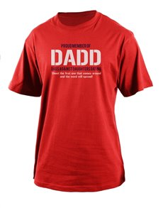 gifts: Personalised DADD Member T Shirt!