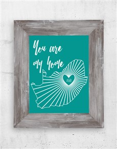 gifts: Personalised My Home Wall Art!