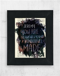 gifts: Personalised Wonderfully Made Wall Art!