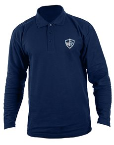 gifts: Personalised Navy Mens Golf Shirt!