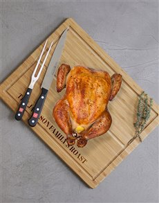 gifts: Personalised Family Roast Carving Board!