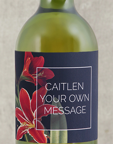 gifts: Personalised Lily Wine!