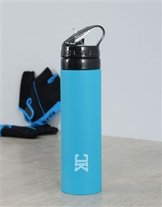gifts:  Personalised Silicone Water Bottle With Initials!