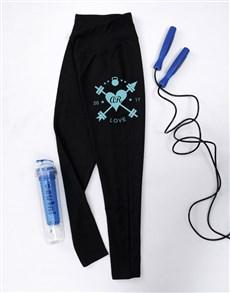 gifts: Personalised Love Gym Leggings!