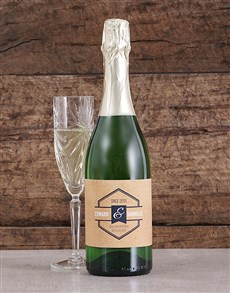 gifts: Personalised Vintage His and Hers Bubbly!