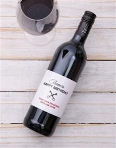 gifts: Personalised Vintage Birthday Wine!