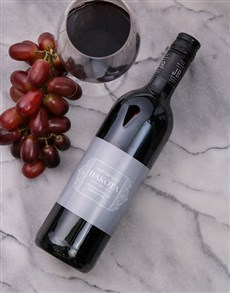 gifts: Personalised Vintage Scroll Wine!
