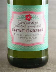 gifts: Personalised Mothers Day Chardonnay!
