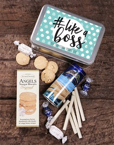 gifts: Personalised Like A Boss Snack Tin!