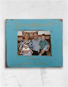 gifts: Personalised Grandparents Frame!