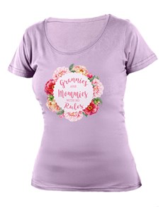 gifts: Personalised Grannies are Mommies T Shirt!