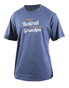 gifts: Personalised Professional Grandpa T Shirt!