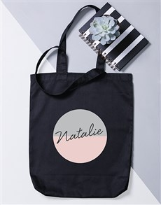 gifts: Personalised Two Tone Tote Bag!