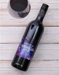 gifts: Personalised Birthday Shiraz!