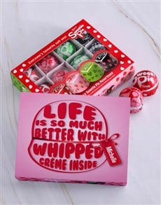 gifts: Personalised Whipped Cream Sweetie Pie Box!