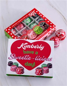 gifts: Personalised Sweetie Licious Sweetie Pie Box!